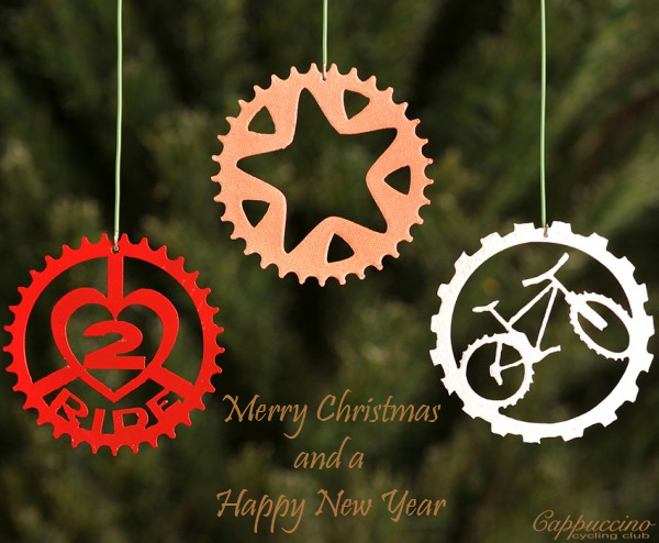 Merry Christmas for the Cappuccino Cycling Club based in Harrogate